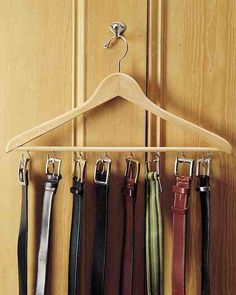 How to: Make a Super Simple Belt Organizer