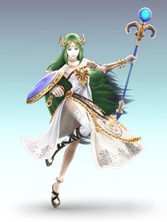 Lady Palutena, Kid Icarus. This would be so fun!