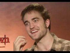 Robert Pattinson Interview about Breaking Dawn