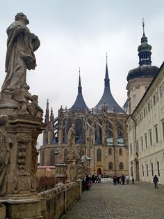 St. Barbara's Cathedral in Kutna Hora, Czech Republic. http://www.traveladdicts.net/2013/04/kutna-hora-day-trip-from-prague-czech.html#more