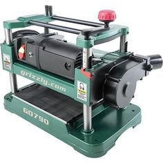 """G0790 Grizzly 12-1/2"""" Benchtop Planer with Dust Collection 