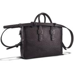 7f49f48c85a Parabellum Collection - Briefcase Black - Bags Leather Briefcase, Vogue  Fashion, Bison, Black