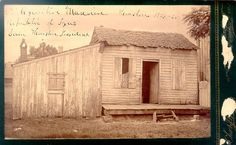 The Executive Mansion, 1837-38. This rude cabin served as the President's Mansion in the temporary capital of Houston. The town was infamous for drunkenness, profanity, and brawling, and it is said that Sam Houston helped to set that tone! Photo held by the Texas State Library and Archives, Prints and Photographs Collection, 1/103-507-B.