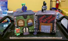 Coolest Lego Batman Cake... This website is the Pinterest of birthday cake ideas