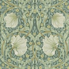 The Original Morris & Co - Arts and crafts, fabrics and wallpaper designs by William Morris & Company | Products | British/UK Fabrics and Wallpapers | Pimpernel (DM6P210389) | Archive Wallpapers