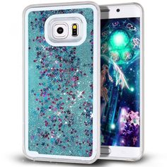 Galaxy S7 Edge Case, Pansonite 3D Creative Design Flowing Liquid Shiny Bling Spa  | eBay
