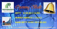 The 30-share BSE Sensex was down 67 points at 29,580.42 and the 50-share NSE Nifty fell 17.15 points to 9,156.60. About 584 shares advanced against 258 declining shares on the BSE. The Indian rupee has opened on a flat note at 64.92 against the US dollar. For Any Info : www.paceresearchindia.com and Call : 8817774774