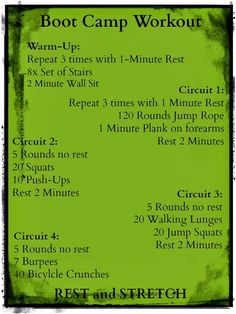 Boot Camp Fitness Exercises ... Boot Camp Fitness Ideas on Pinterest | Boot camp, Boot camp workout