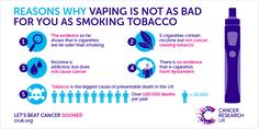 """More and more positive research! Please share! We need to help as many people as possible understand and communicate the benefits of ecigs!   Long-term study by Cancer Research UK and UCL finds Vaping """"far safer"""" than smoking tobacco.   """"This study adds to growing evidence that e-cigarettes are a much safer alternative to tobacco, and suggests the long term effects of these products will be minimal."""" - Alison Cox, Cancer Research UK"""