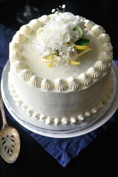 Elderflower and Lemon Layer Cake - 10th Kitchen