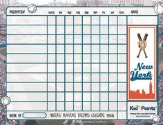 Chart for Kids: New York Yankees