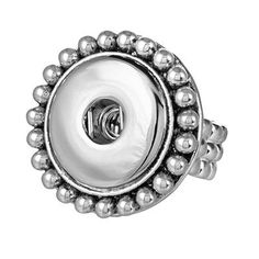Stretch Snap Dot Interchangeable Ring