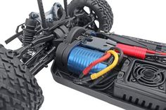 BLACKOUT™ XTE PRO 1/10 SCALE BRUSHLESS ELECTRIC MONSTER TRUCK BLUE - OMGRC online Hobby shop