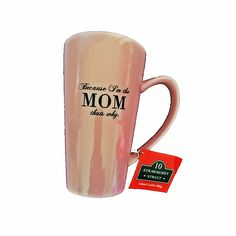"""How Many times did you hear your Mom say """"Because I'm the Mom, that's why ??  And how many times have you said those exact same words to your own children ????  #MothersDay"""