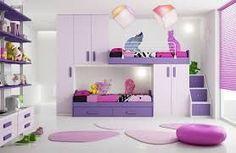 Resultado de imagen para cama para niñas litera