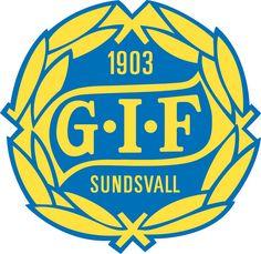 Gymnastik och Idrottsföreningen Sundsvall (GIF Sundsvall, Sundsvall) | Country: Sverige / Sweden. País: Suecia | Founded/Fundado: 1903/08/25 | Badge/Crest/Logo/Escudo.