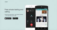 Wiper está disponible para Android e iOS y permite las comunicaciones más seguras hasta el momento en aplicaciones gratuitas. La aplicación permite las llamadas encriptadas a través de WiFi o datos móviles a los contactos que también usen Wipe, pero no se queda ahí, también permite compartir vídeos de YouTube u otros archivos, todos cifrados.