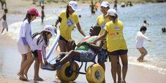 Projeto ParaPraia oferece esportes adaptados em Ondina #timbeta #sdv #betaajudabeta