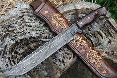 Show me your custom camp knife/chopper. - Page 20