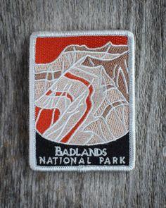 Badlands National Park Souvenir Patch Special Edition Traveler Series