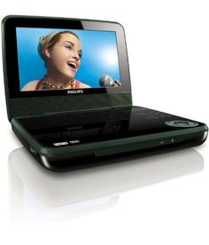"Philips PET741B/37 Portable DVD Player with 7-Inch LCD with Mini Tool Box (fs) by Philips. $241.14. Enjoy your movies, music, and photos anytime, anyplace! Philips PET741 Portable DVD player (Region free) features a 7"" 16:9 wide-screen TFT LCD display and built-in stereo speakers. Also includes AC adaptor, car adaptor, and AV cable. Up to 2-hour playback with built-in rechargeable battery.Connectivity: DC in, AV output, 3.5 mm stereo headphone.   Resolution: 480(w)x234(H..."