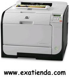Ya disponible Impresora HP laserjet m451dw    (por sólo 465.99 € IVA incluído):   -Tipo impresora:Impresora de grupo de trabajo - laser - color -Resolución máxima (B/N): 600 ppp x 600 ppp -Resolución máxima (color): 600 ppp x 600 ppp -Velocidad:Hasta 20 ppm - impresión en negro calidad normal - A4 (210 x 297 mm) ¦ Hasta 20 ppm - impresión en color calidad normal - A4 (210 x 297 mm) -Conectividad/Interfaz:USB, Ethernet 10/100Base-TX, WIFI (802.11 b/g/n) -Consumibles
