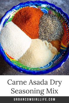 Carne Asada is best seared dry and crisp over live fire, and the best way to achieve a good sear is eliminating moisture with a dry rub. This Texas carne asada dry rub will load your meat full of flavor without adding moisture. Get the recipe now! Best Beef Recipes, Dry Rub Recipes, Spicy Recipes, Grilling Recipes, Mexican Side Dishes, Great Steak, Beef Fajitas, Spice Bottles, Fajita Seasoning