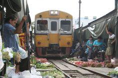 Maeklong Market - Thailande