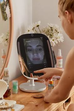 Shop HiMirror Smart Beauty Mirror at Urban Outfitters today.