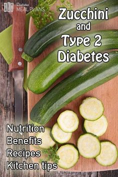 Zucchini and Type 2 Diabetes - the most amazing vegetable that is highly versatile for many types of meals #DiabetesCureType2 #DiabetesCureBloodSugar #DiabetesCureRemedies