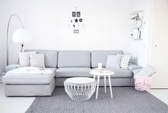 scandinavian living room for home...