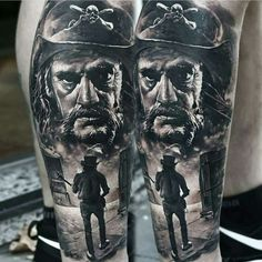 Sick Lemmy tattoo by Domantas Parvainis from Lithuania.
