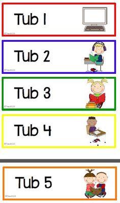 Teach123: Tips for centers $0