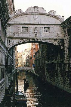 Venice - Bridge of Sighs by WVJazzman, via Flickr