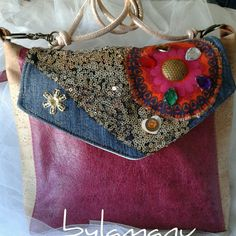 Bolso patchwork leather