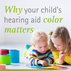 If you're a parent of a child with hearing loss, you know choosing the right hearing aid isn't always black or white.