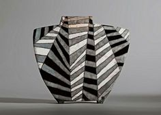 Unfolded (ceramic) by Ute Grossman (venciceclayartists)