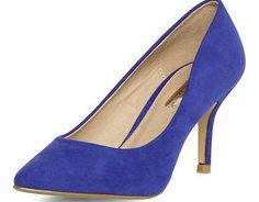 Dorothy Perkins Womens Violet mid pointed court shoes- Violet Violet suedette finish mid height pointed court shoes. Heel height is approximately 3. 100% Textile. http://www.comparestoreprices.co.uk/womens-shoes/dorothy-perkins-womens-violet-mid-pointed-court-shoes-violet.asp