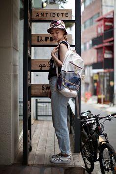 On the street... Mirae Lee Busan   echeveau