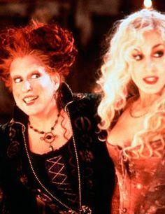 hocus pocus is my favorite holloween movie!