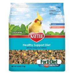 BIRD - FOOD: SEEDS & PELLETS - TIEL FORTI DIET PRO HEALTH - 5 LB - CENTRAL - KAYTEE PRODUCTS, INC - UPC: 71859999029 - DEPT: BIRD PRODUCTS