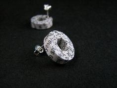 paper earrings | BLURECO