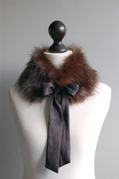 The handmade soft, faux fur collars from Etsy Seller, IMALI Accessories, from Latvia, are a truly luxurious way to keep warm this winter while looking good doing it. For me, their romantic, old-world glamour makes them the perfect accessory for special nights out. http://www.explorehandmade.com/post/35343156427