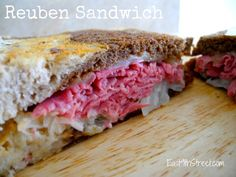 Forget making corned beef for St. Patricks Day, try these reuben sandwiches instead.