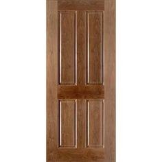 4 panel oak fire door raised mouldings fielded panels for 1 hour fire rated wood door