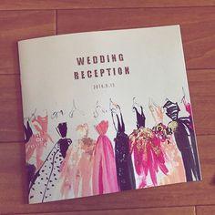 #プロフィールブック #席次表 #メニュー表 #プログラム #結婚式