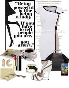 """Business Days Never Looked So Good"" by mzdiamondgirl on Polyvore"