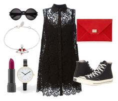 """""""Cool & sweet for your Saturday ~"""" by love-jammy ❤ liked on Polyvore featuring ASOS, Dolce&Gabbana, Vivienne Westwood, Jimmy Choo, Converse, Bite, Yves Saint Laurent, women's clothing, women and female"""
