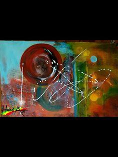 Acrylic on canvas, Size: 40×60cm, Artist: Haimi Messele, From: Munich Germany