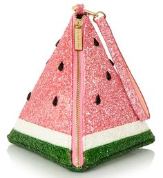 Upgrade your evening clutch bag & complete your outfit, with the Fur Watermelon Clutch from Skinnydip London. Unique Purses, Unique Bags, Cute Purses, Watermelon Bag, Kawaii Bags, Novelty Bags, Girls Bags, Cute Bags, Purses And Handbags